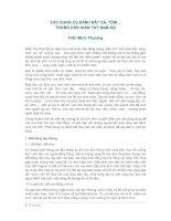 CÁC DỤNG CỤ ĐÁNH BẮT CÁ, TÔM… TRONG DÂN GIAN TAY NAM BỘ ppt
