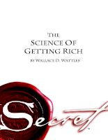 The Science Of Getting Rich - As Featured In The Best-Selling''''secret'''' By Rhonda Byrne pdf