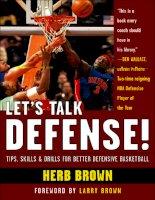 LET'S TALK DEFENSE! TIPS, SKILLS, AND DRILLS FOR BETTER DEFENSIVE BASKETBALL pot