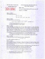 Đề thi học sinh giỏi quốc gia năm 2010 môn toán 12 doc