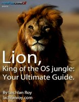 Lion, King of the OS jungle: Your Ultimate Guide