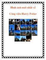 Hình ảnh mới nhất về Công viên Harry Potter pdf