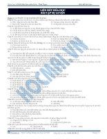 Bài 4. Bài tập Liên kết hóa học