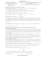 đề thi thử đại học lần 1 môn toán khối a 2014 - thpt ngô quang diệu