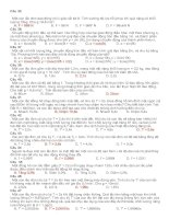 Vật lý 12: Lý thuyết con lắc đơn