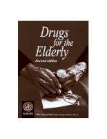 DRUGS FOR THE ELDERLY doc