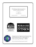 2005 Michigan Dairy Grazing Farm Business Analysis Summary pdf