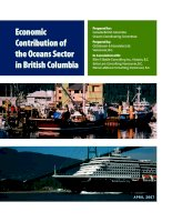 Economic Contribution of the Oceans Sector in British Columbia doc