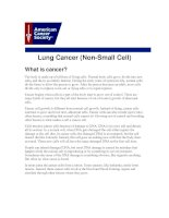 Lung Cancer (Non-Small Cell) pptx