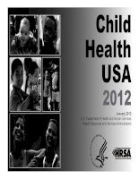 Child Health USA 2012 Health Resources and Services Administration pdf