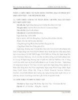 BÁO CÁO HOẠT ĐỘNG KINH DOANH NGÂN HÀNG THƯƠNG MẠI CỔ PHẦN BƯU ĐIỆN LIÊN VIỆT – CHI NHÁNH HÀ NỘI doc
