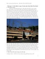 Báo cáo thực tập nhà máy thủy điện hòa bình