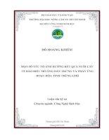 MỘT SỐ YẾU TỐ ẢNH HƢỞNG KẾT QUẢ NUÔI CẤY TẾ BÀO BIỂU MÔ ỐNG DẨN TRỨNG VÀ PHẢN ỨNG HOẠT HÓA TINH TRÙNG CHÓ pot