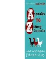 Anoraks to Zitting Cisticola: A Whole Lot of Stuff About Birdwatching pptx