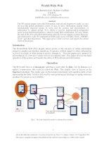 World-Wide Web: Tim Berners-Lee, Robert Cailliau C.E.R.N. CH - 1211 Genève 23 pot