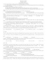 Đề Thi Thử Tốt Nghiệp Vật Lý 2013 - Phần 1 - Đề 5 pptx