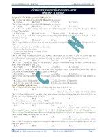 Lý thuyết trọng tâm về este - lipit - bài tập tự luyện docx