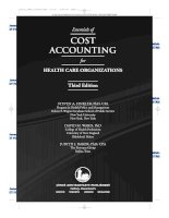 ESSENTIALS OF COST ACCOUNTING FOR HEALTH CARE ORGANIZATIONS doc