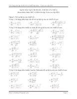 DẠNG BÀI TẬP CHUỖI SỐ - CHUỖI LŨY THỪA pdf