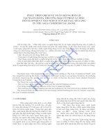 Luận văn:Phát triển dịch vụ ngân hàng bán lẻ tại ngân hàng thương mại cổ phần Á Châu docx