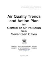 Air Quality Trends and Action Plan for Control of Air Pollution from Seventeen Cities potx