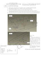 Đề thi môn học: CÔNG NGHỆ CAD/CAM/CNC-Đề số 1 pot