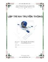 Bai tap thuc hanh lap trinh truyen thong