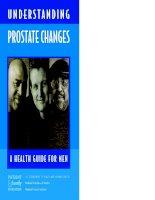 UNDERSTA N D I N G PROSTATE CHANGES: A HEALTH GUIDE FOR MEN pot