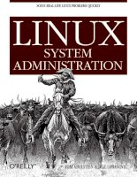 o'reilly - linux system administration mar 2007