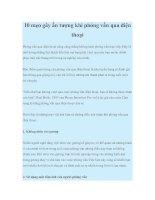 10 mẹo gây ấn tượng khi phỏng vấn qua điện thoại potx