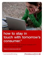 how to stay in touch with tomorrow's consumer pdf