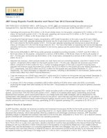 JMP Group Reports Fourth Quarter and Fiscal Year 2012 Financial Results docx