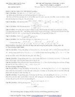 Tổng hợp đề thi thử ĐH môn Toán các khối Đề 65 docx