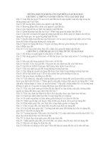HƯỚNG DẪN NỘI DUNG ÔN TẬP MÔN LUẬT ĐẤT ĐAI pdf
