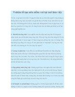 9 nhân tố tạo nên niềm vui tại nơi làm việc pot