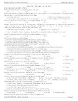 Các dạng bài tập aminaminoaxit và prôtêin 12