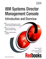 IBM Systems Director Management Console Introduction and Overview doc