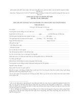 MẪU BÁO CÁO KẾT QUẢ HỌC TẬP CỦA NGHIÊN CỨU SINH ĐI ĐÀO TẠO Ở NƯỚC NGOÀI THEO ĐỀ ÁN 911 ppt