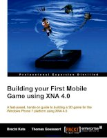 Building your First Mobile Game using XNA 4.0 docx