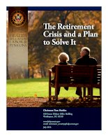 The Retirement Crisis and a Plan to Solve It doc