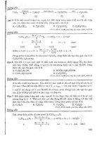 tài liệu ôn thi đại học theo chủ đề môn hóa học - ngô ngọc an phần 2