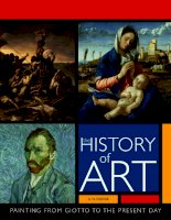 History of art - painting from Giotto to present day