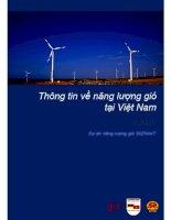 thông tin về năng lượng gió tại việt nam