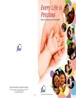 EVERY LIFE IS PRECIOUS MATERNAL, NEWBORN AND CHILD HEALTH pdf