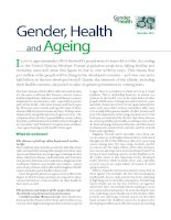 Gender, Health and Ageing pot