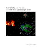 Solar and Space Physics and Its Role in Space Exploration doc
