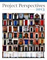 The annual publication of International Project Management Association 2013 pot