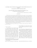 CẢI THIỆN CHẤT LƯỢNG CHO QUẢ HỒNG THẠCH THẤT BẰNG XỬ LÍ NHIỆT VÀ ETHANOL TRƯỚC KHI RẤM CHÍN ppt