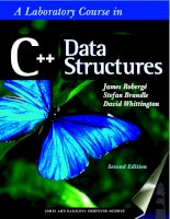 Roberge, brandle, whittington   a laboratory course in c++ data structures