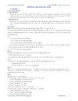 Chuyên đề tổ hợp- Xác suất đầy đủ các dạng.doc
